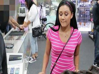 Desperate Indian Pawnshop Amateur Facialized