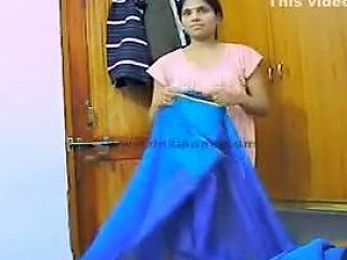 Indian Wife Aarti Changing