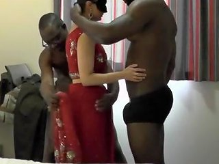 Indian Big Tits Wife With 3 Bbc