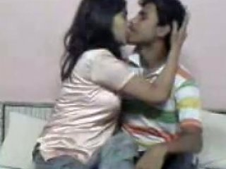 Sweet And Busty Indian Teen Babe Riding Her Boyfriend