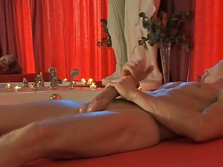Erotic Handjob And A Solo Cock Massage