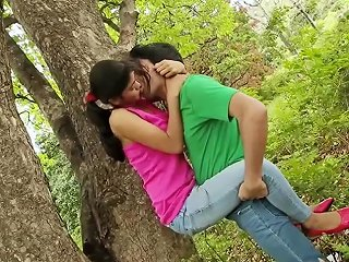 College Couple Din T Control Love In Forest Short Movie
