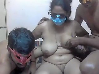 Indian Threesome Hardcore