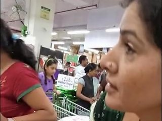 Indian Downblouse Cleavage Spycam