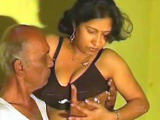 Old Man Getting Lucky With His Young And Fresh Desi Wife