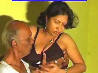 Nasty Indian Milf Is Playing With An Old Cock