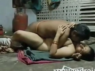 Telugu Couple Sex In Home Kitchen With Loud Moan In Saree