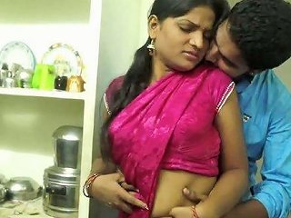 Kinky Amateur Indian Couple Enjoys Spooning Each Other On The Floor
