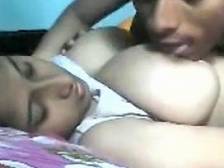 Desi Gf With Delicious Big Boobs Sucked Dont Miss